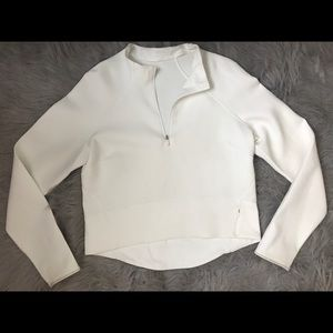 lululemon fashion statement breathable half zip